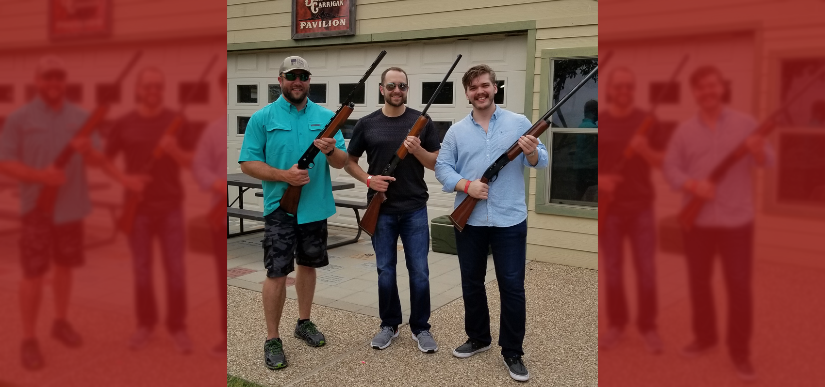 Out and About: Skeet Shooting with Friends!