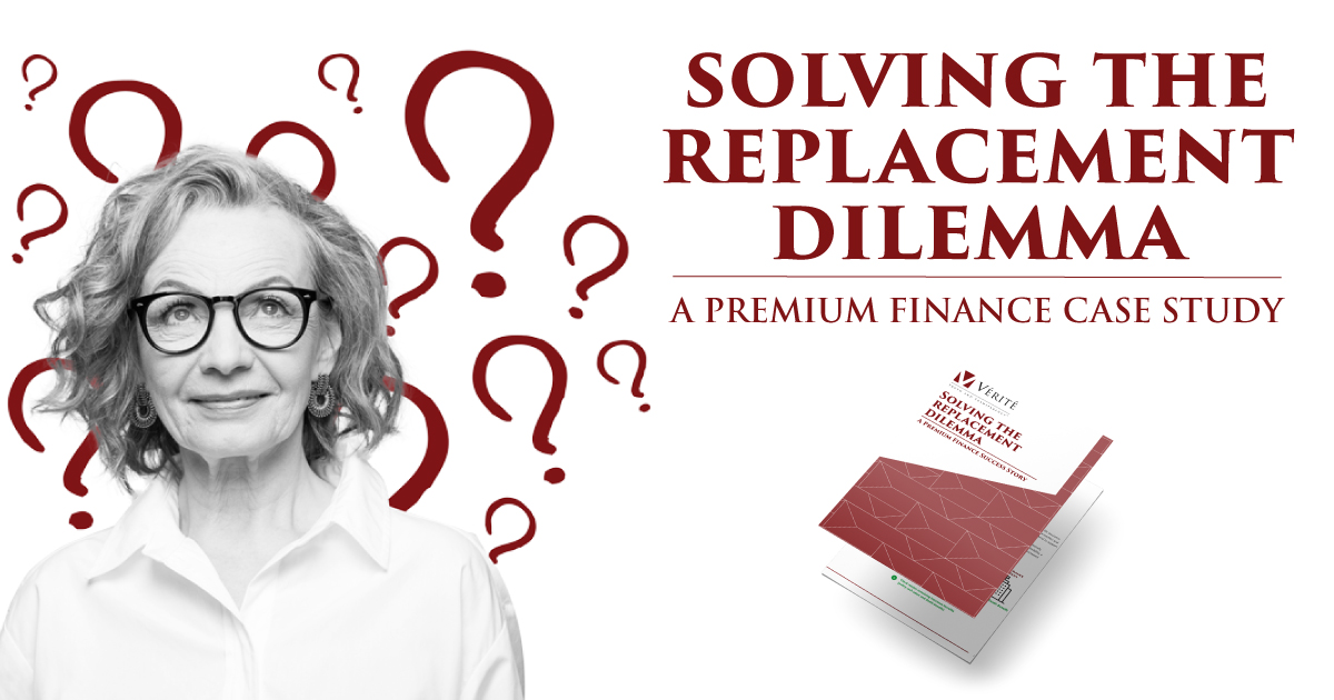 Solving the Replacement Dilemma: A Premium Finance Case Study